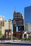 Las Vegas - New York New York Hotel Royalty Free Stock Photo