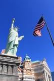 Las Vegas - New York New York Hotel Stock Photos