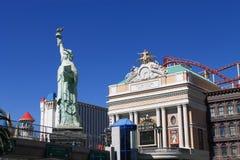 Las Vegas - New York New York Hotel Stock Photo