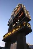 Las Vegas New York Signage by Night Stock Photo