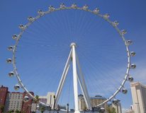 Las Vegas newest attraction The High Roller Ferris Wheel Stock Images