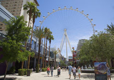 Las Vegas newest attraction The High Roller Ferris Wheel Royalty Free Stock Photography