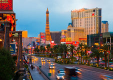 Las Vegas at night Stock Photos