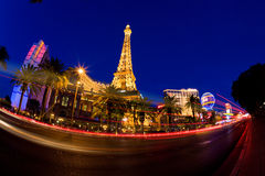 Las Vegas at night Stock Image