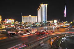 Las Vegas at Night Stock Images