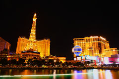 Las Vegas night Royalty Free Stock Photo