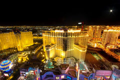 Las Vegas Night Stock Photography
