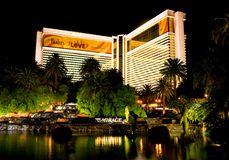 Las Vegas at night Royalty Free Stock Photography