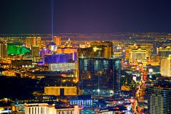 Las Vegas at night