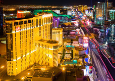 Las Vegas at night Royalty Free Stock Photos