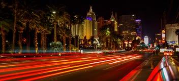 Las Vegas at night. Stock Photos