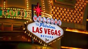 Las Vegas at night. stock photography