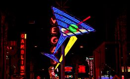 Las Vegas by night. Stock Photos