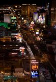 Las Vegas Night Panorama Stock Photos