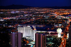 Las Vegas night scene stock images