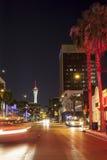 Las Vegas by night Royalty Free Stock Photo