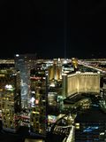 Las Vegas at night time royalty free stock photo