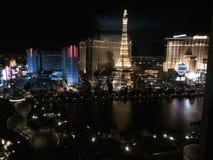 Las Vegas by Night Stock Photography