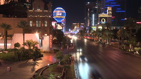 Las Vegas Night Traffic - Time lapse - Clips 3 of 12. Time Lapse of the Las Vegas strip at night. Shot with a Sony EX3 stock video