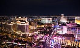Las Vegas at night Stock Image