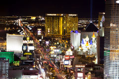 Las Vegas Nightlife Stock Image