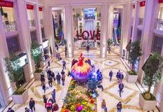 Las Vegas, nouvelle année chinoise vénitienne Photographie stock