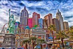 Las Vegas Nowy Jork fotografia royalty free
