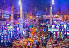 Las Vegas Nowy Jork hotel Zdjęcia Royalty Free