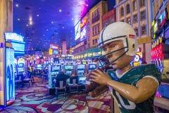 Las Vegas Nowy Jork hotel Obrazy Royalty Free