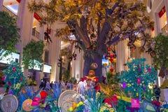 Las Vegas, nuovo anno cinese veneziano Fotografia Stock Libera da Diritti