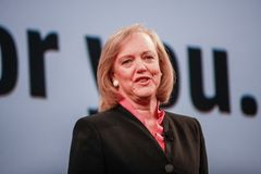 HP president and chief executive officer Meg Whitman Stock Images