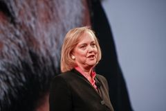 HP president and chief executive officer Meg Whitman Royalty Free Stock Photos