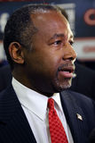LAS VEGAS, NV, DEC.15, 2015, closeup profile of Dr. Ben Carson, retired neurosurgeon and 2016 Republican presidential candidate, s Stock Photography