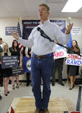 LAS VEGAS, NV, DEC 15, 201Presidential Candidate Rand Paul Campaigns at Las Vegas Rand Paul Election Office the day before CNN Rep Stock Photography