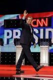 LAS VEGAS, NV, Dec 15, 2015, Senator Ted Cruz, een Republikein van de presidentiële kandidaat van Texas en van 2016, gangen en go Stock Afbeelding