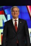 LAS VEGAS, NV - DECEMBER 15: Republican presidential candidate and former Gov Jeb Bush smiling at CNN republican presidential deba Royalty Free Stock Photography