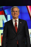 LAS VEGAS, NV - 15 DECEMBER: Republikeinse presidentiële kandidaat en vroegere Regering Jeb Bush die bij CNN republikeinse presid Royalty-vrije Stock Fotografie