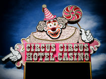 LAS VEGAS NV - JUNE 05 Hotel Casino Circus Circus on June 27 Stock Image