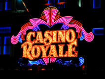 LAS VEGAS NV - JUNE 05 Hotel Casino Royale on June 27, 2005 Stock Photography