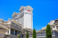 LAS VEGAS, NV - 13 JUNI, 2017: Het hotel van het Caesarspaleis stock afbeeldingen