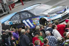 NASCAR: Denny Hamlin and fans Royalty Free Stock Photo