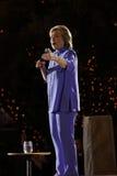 LAS VEGAS, NV - 14 OKTOBER, 2015: Hillary Clinton, vroeger U S Staatssecretaris en de Democratische presidentiële kandidaat van 2 Stock Fotografie