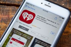 IHeartRadio Music Festival editorial stock image  Image of