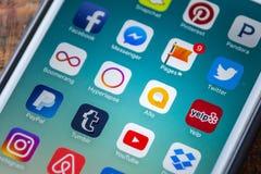 LAS VEGAS, NV - 22 settembre 2016 - Icona Allo di Google App sul App Fotografie Stock Libere da Diritti
