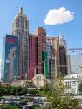 Las Vegas NY NY hotelu kasyno Zdjęcia Royalty Free