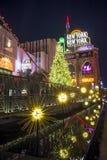Las Vegas nytt New York hotell Arkivbild