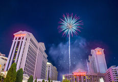 Las Vegas 4o julho Imagens de Stock Royalty Free