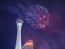 Las Vegas 4o julho Imagem de Stock