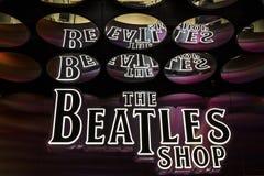 Las Vegas - Około Grudzień 2016: Bitelsi sklep przy mirażem To jest jedyny koncensjonowany Bitelsi sklep detaliczny Ja zdjęcie stock