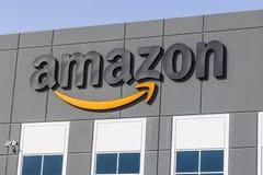 Las Vegas - Około Lipiec 2017: Amazonka com zadości centrum Amazonka jest Wielkim opierającym się detalistą w Stany Zjednoczone V zdjęcie stock
